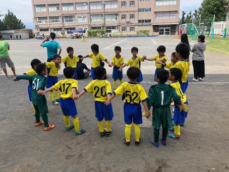 2019.9.22 U8クラス 第51回横浜国際チビッ子サッカー大会最終日