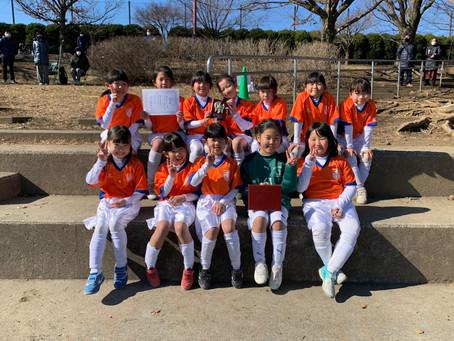 2021.1.31 少女クラス 冬季緑区少年サッカー大会U10少女の部2日目