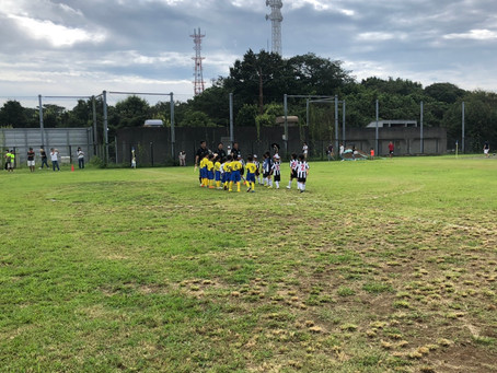 2019.8.31 U8 第25回ヨコハマメトロポリタンカップ予選初日