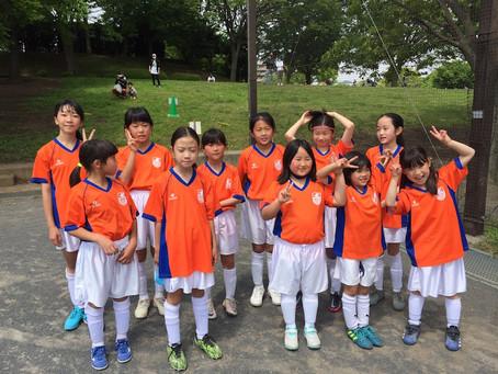 2021.5.1 LUNAクラス 第48回横浜市春季サッカー大会<少女の部>2日目