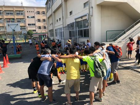 2019.9.8 U8クラス第51回横浜国際チビッ子サッカー大会初日