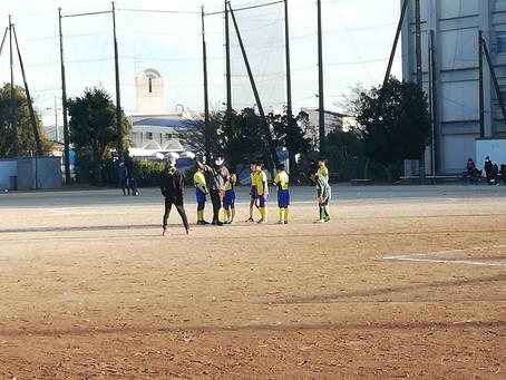 2020.12.20 U12クラス トレーニングマッチ