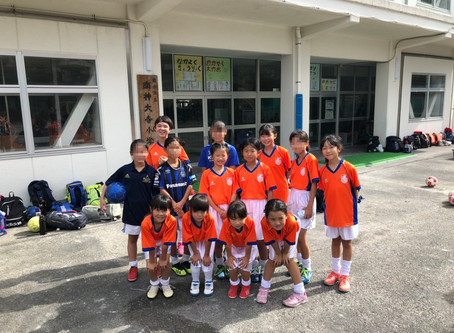 2019.10.27 LUNAクラス 初トレーニングマッチ
