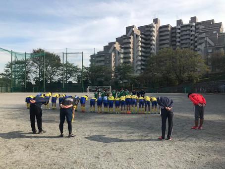 2019.10.27 U12クラス トレーニングマッチ