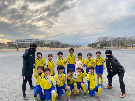 2021.1.17 U9クラス旭区招待杯優勝!