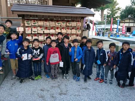 2020.1.13 U8クラス 師岡熊野神社初詣