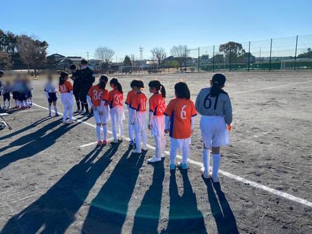 2021.1.30 少女クラス 冬季緑区少年サッカー大会U10少女の部