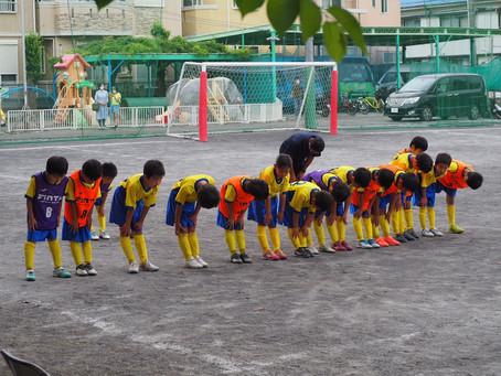 2021.6.13 U8クラス トレーニングマッチ
