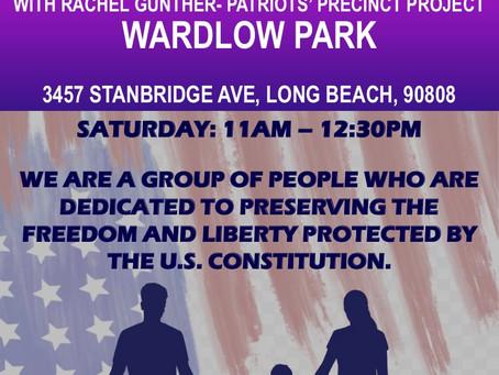 Long Beach Freedom USA Group Precinct Walk Saturday 7/3/21 11AM