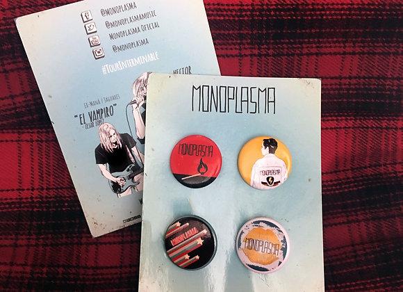 Monoplasma Pin Pack