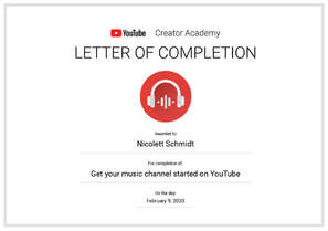 YouTube Creator Academy_Music Channel.jp