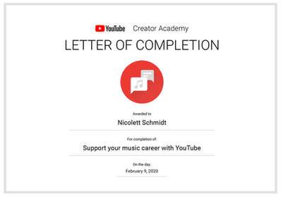 YouTube Creator Academy_Music Carreer.jp