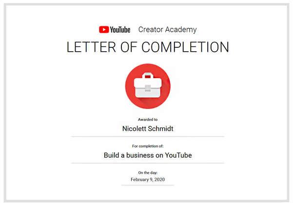 YouTube Creator Academy - Build a Busine