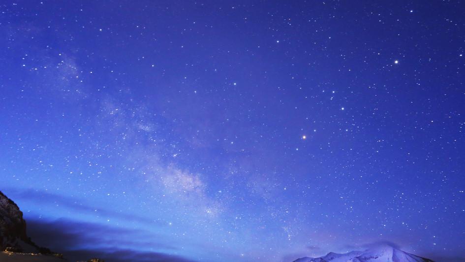 Milky Way Blue