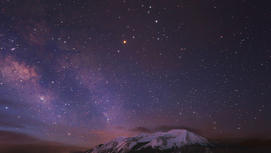 Milky Way Purple