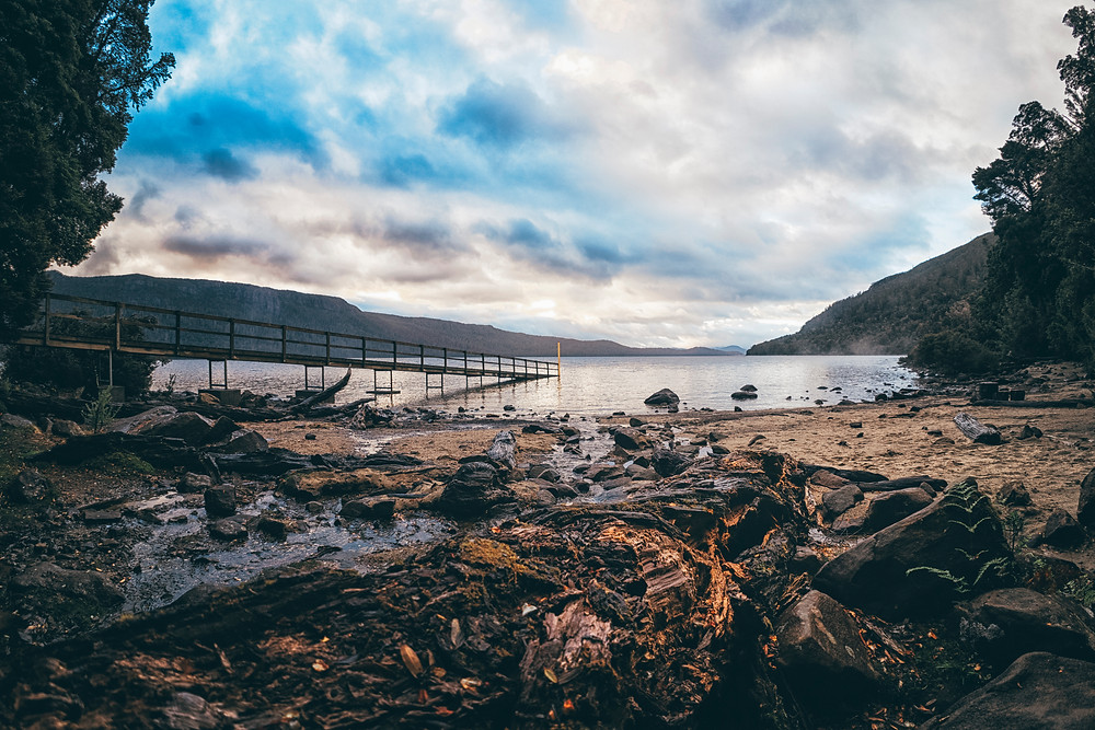 Sunrise at Echo Point Hut