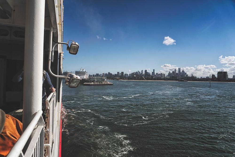 Spirit of Tasmania from Melbourne