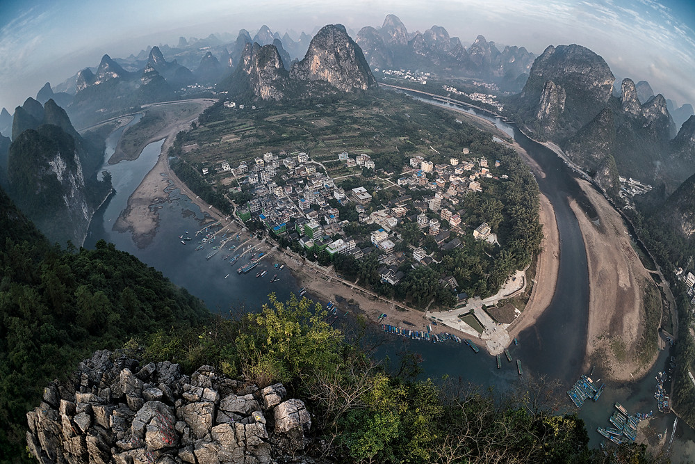 Laozhai Hill - Xingping, China