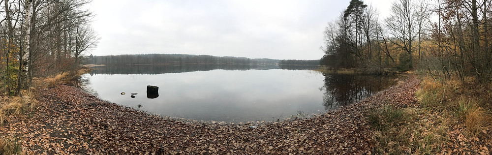 Beautiful view of Lärkholmsjön