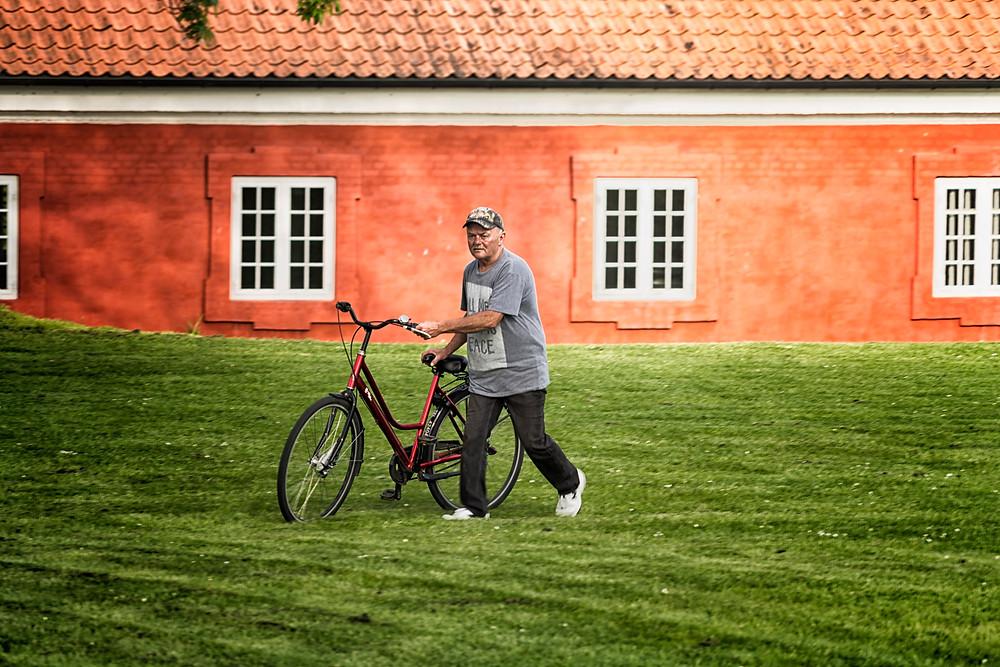 Roady and his bike