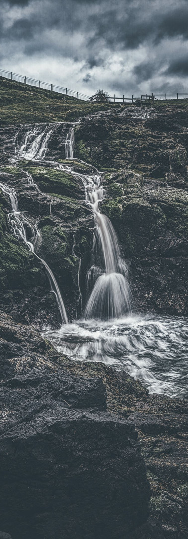 Dunseverick Falls - Northern Ireland