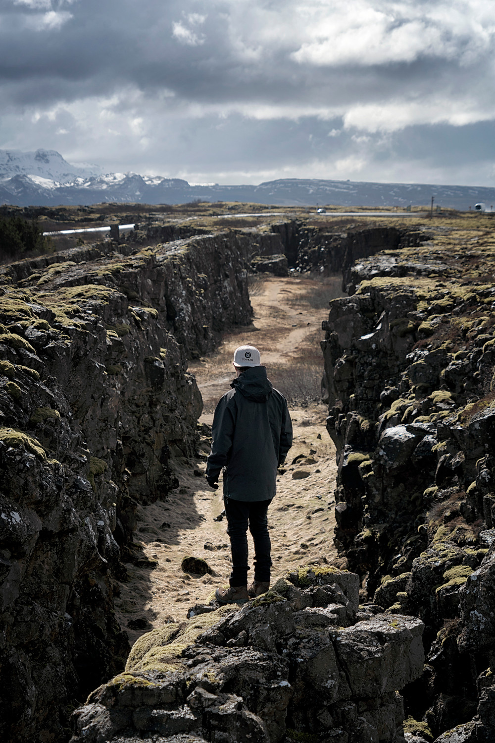 Insane to think these are two separate tectonic plates literally separating before your eyes