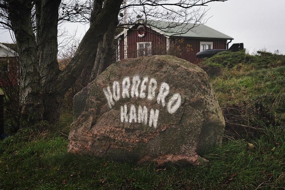 Horrebro Hamn on Skåneleden