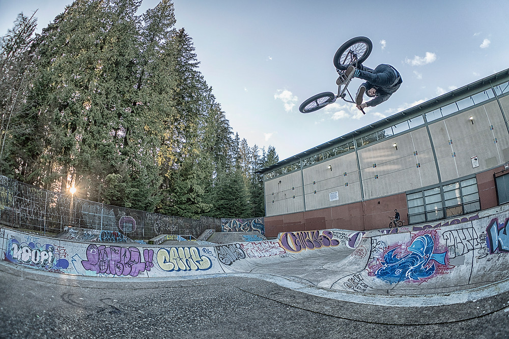 Corey Walsh doing what he does best. Boostin'