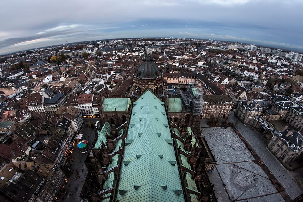 The city of Strasbourg