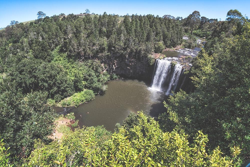Dangar Falls Lookout