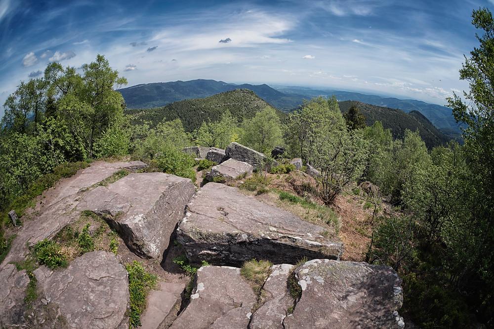 Les Vosges Mountainscape