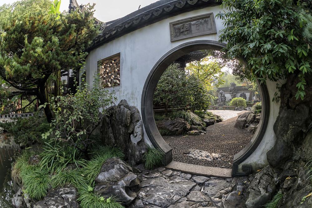 Yuyuan Gardens - Gate