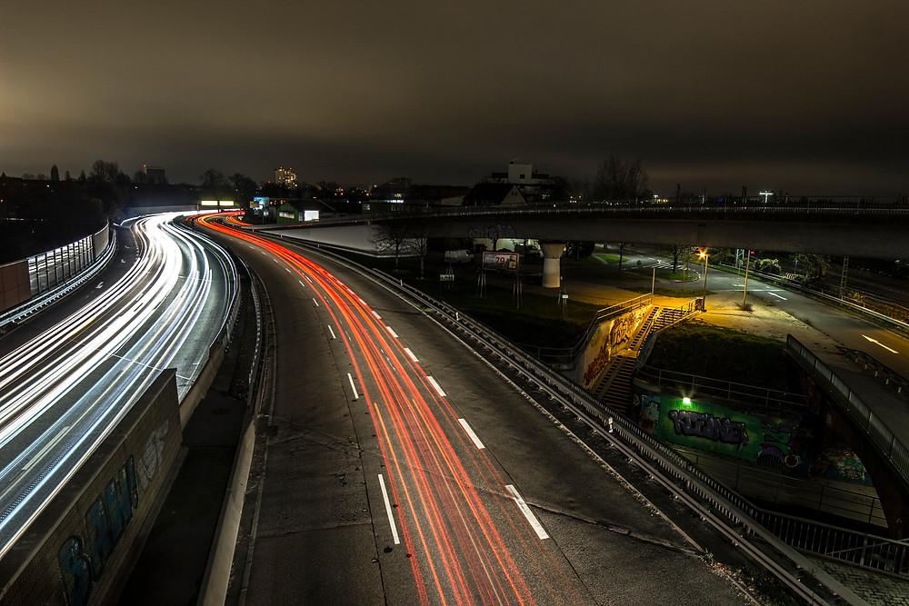 A German autoroute