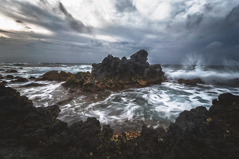 Crashing Waves in the Morning