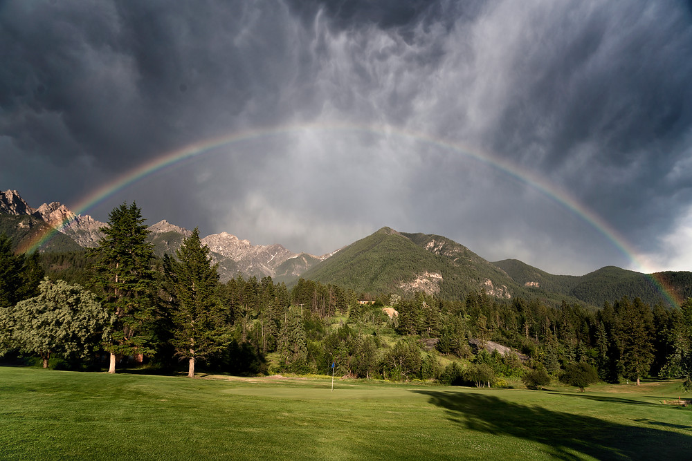 Over the rainbow :)