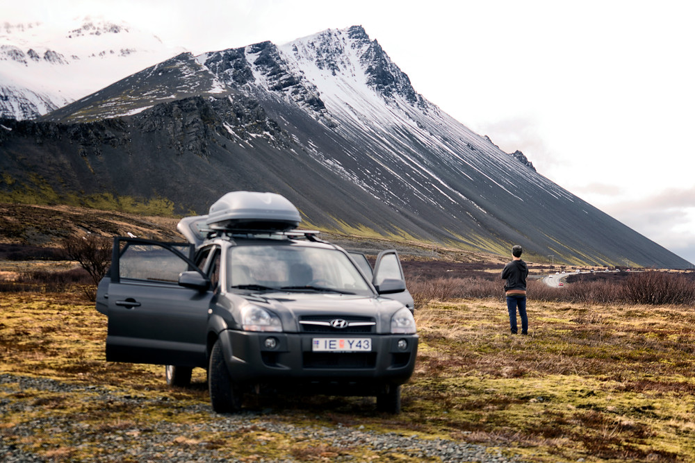 Our vehicle for the week in Iceland.