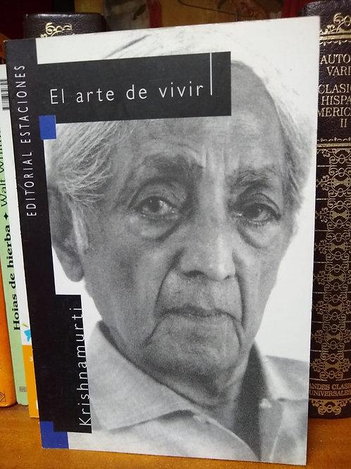 El arte de vivir. Krishnamurti