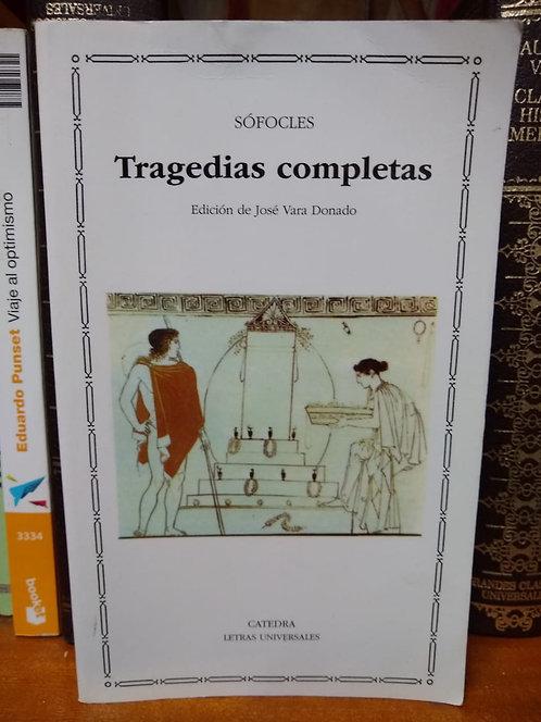 Tragedias completas. Sófocles
