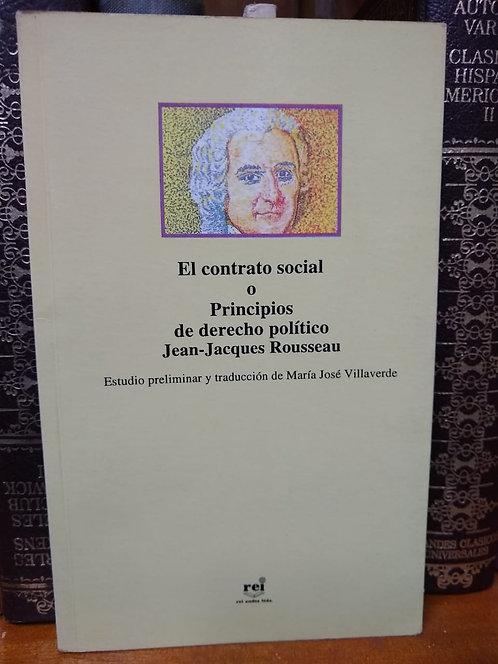El contrato social. Jean-Jacques Rousseau.
