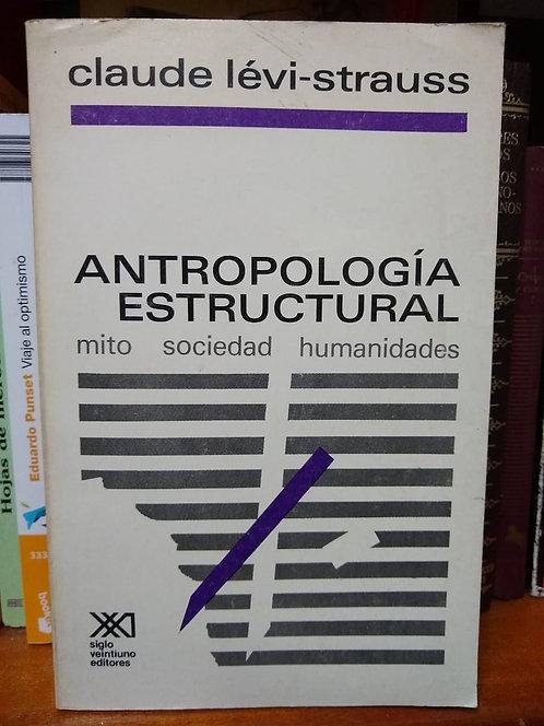 Antropología estructural. Claude Lévi-Strauss