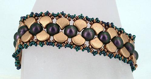 Ginkgo Brocade Bracelet