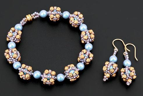 Bon Bon Bracelet and Earrings