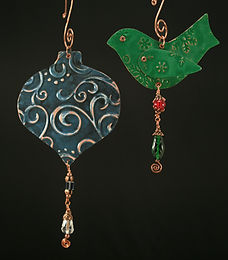 Embossed Holiday Ornament