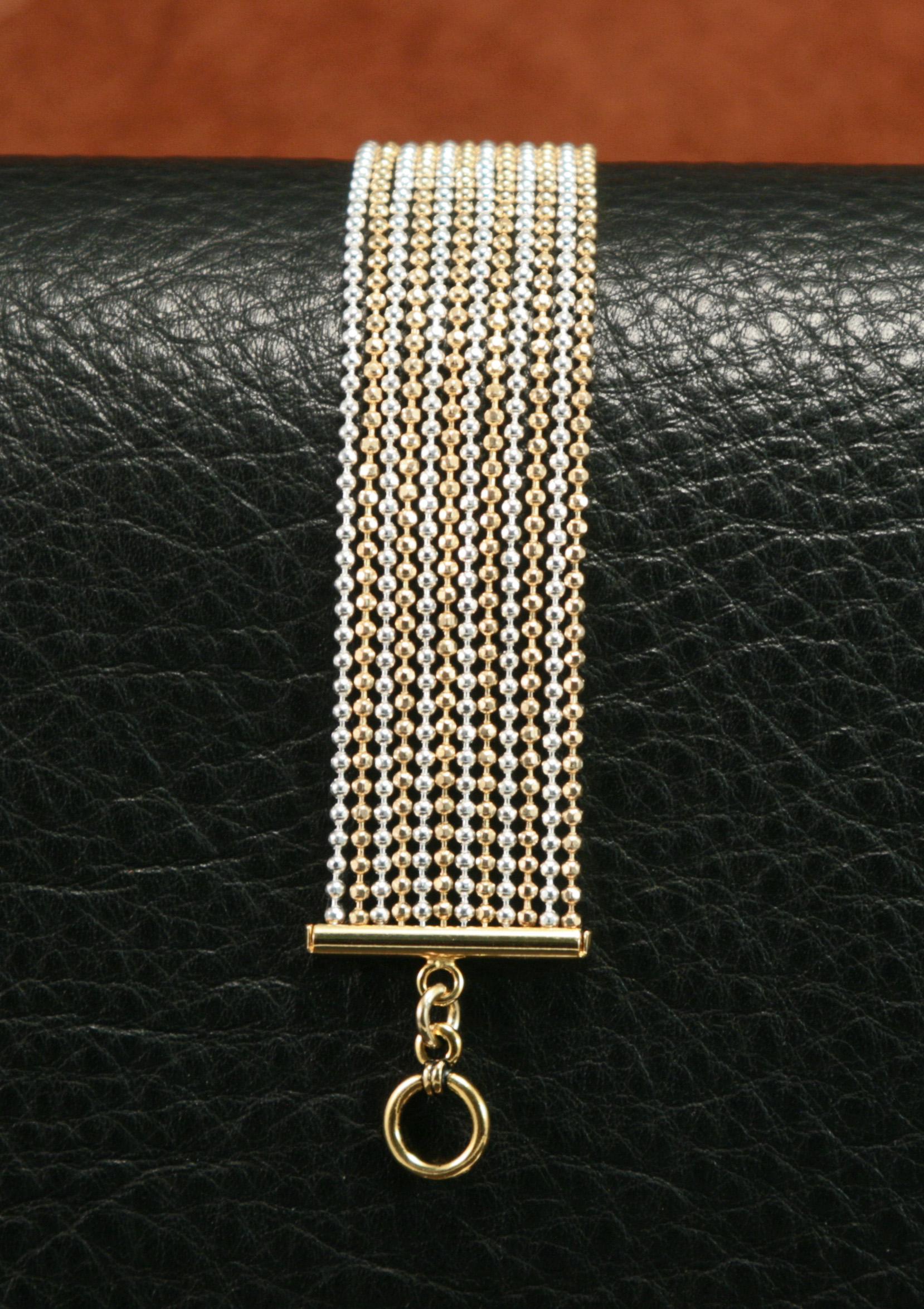 Multistrand Chain Bracelet