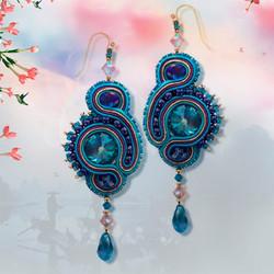 Serendipity Blue Earrings