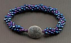 Kumihimo with Beads
