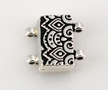 Temple Stitch-in Magnetic Clasp