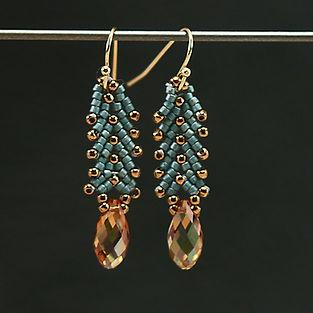 St. Petersburg Stitch Earrings