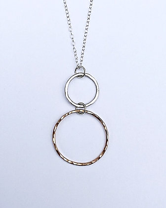 Double Hip Loop Necklace