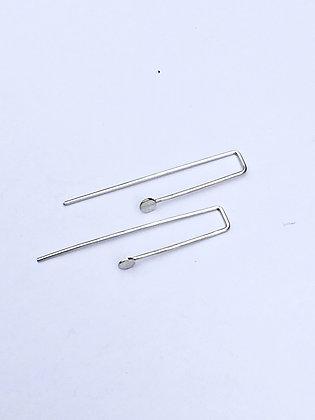 Silver Springs Earrings